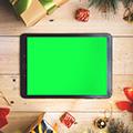 그린 스크린/녹색 배경